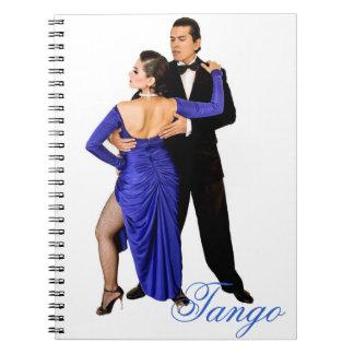 Tango Passion Spiral Note Book