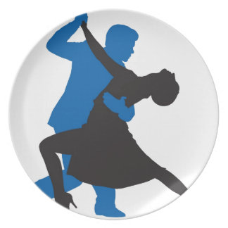 Tango Party Plate