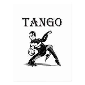 Tango Post Card