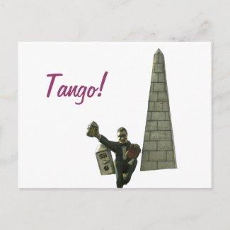 Tango! postcard