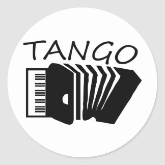 Tango Products! Classic Round Sticker