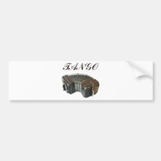 Tango Products & Designs! Argentina Music! Bumper Sticker