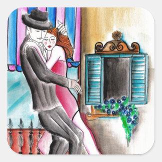 Tango Romance Stickers