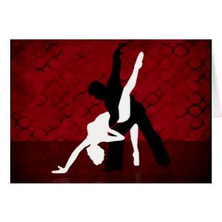 Tango Series 1 Greeting Card