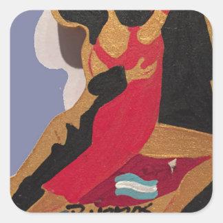 Tango Square Sticker
