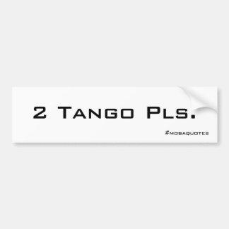 Tango Sticker