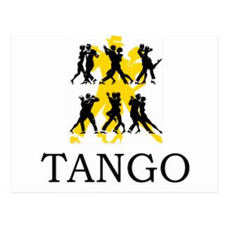 TANGO TARJETA POSTAL