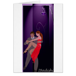 Tango - The nights of Buenos Aires Greeting Card