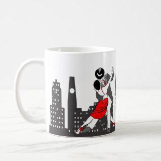 Tango urbano taza de café