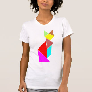 tangram cat shirts