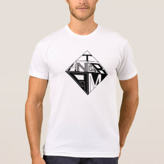 Tangram Design by: RokCloneDesigns  Black on White T-shirt