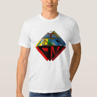 Tangram Design by: RokCloneDesigns  Multicolored T T-shirt
