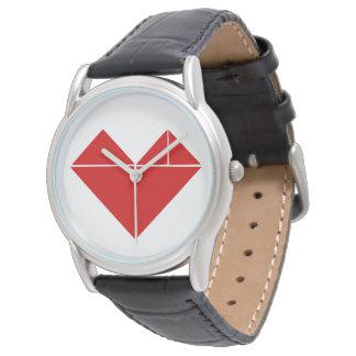 tangram heart watch