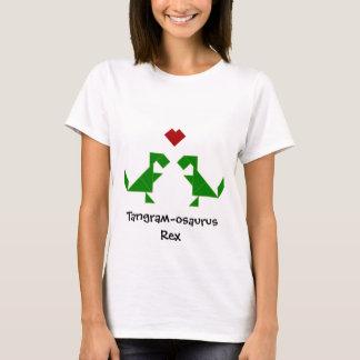 Tangram-osaurus Rex in Love T-Shirt