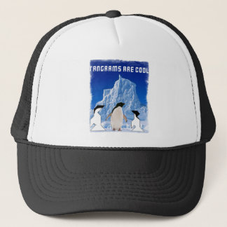 tangrams are cool trucker hat