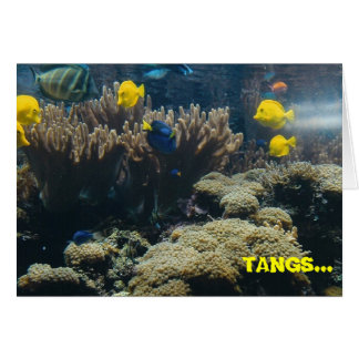 TANGS... a lot! - thank you card