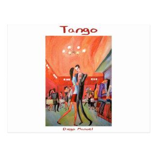 Tangueria 3 postcard