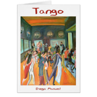 Tangueria Greeting Card