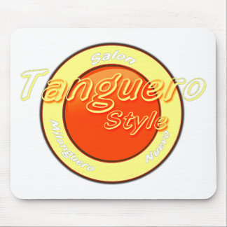 tanguero style super saturated mouse pad