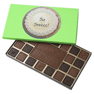 Tangy Key Lime Pie Fun 45 Piece Box Of Chocolates
