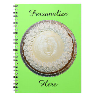 Tangy Key Lime Pie Fun Notebook