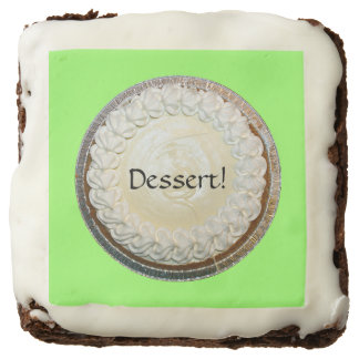 Tangy Key Lime Pie Fun Square Brownie