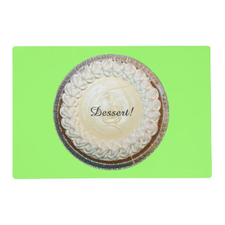 Tangy Key Lime Pie Fun Placemat