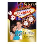Tania and Eric Las Vegas Reception Invitations