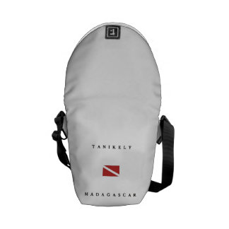 Tanikely Madagascar Scuba Dive Flag Messenger Bag