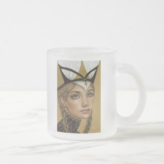 Tanith Frosted Glass Coffee Mug