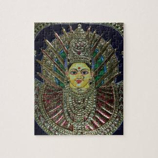 Tanjore Adi Parashakti Painting Puzzles