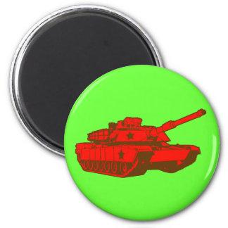 Tank 2 Inch Round Magnet