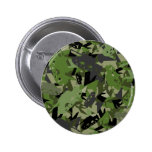 Tank Army Camouflage Badge Pinback Button