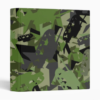 Tank Army Camouflage Binder
