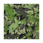 Tank Army Camouflage Canvas Print