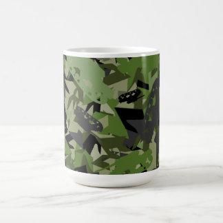 Tank Army Camouflage Coffee Mug