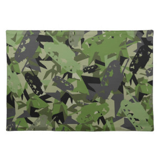 Tank Army Camouflage Placemat