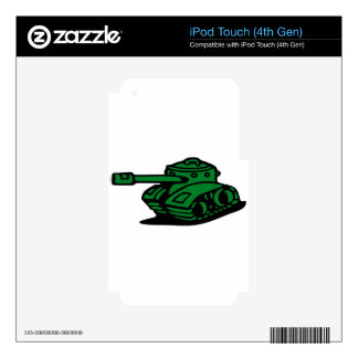 tank army decals for iPod touch 4G