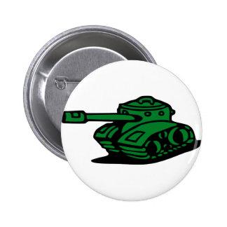 tank army pinback button