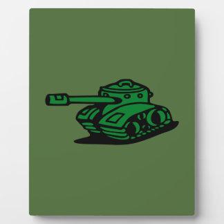 tank army plaque