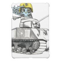 Tank Battle Owl Cover For The iPad Mini