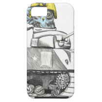Tank Battle Owl iPhone SE/5/5s Case