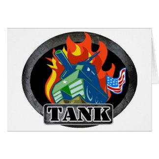 Tank Greeting Cards