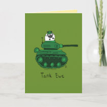 Tank Ewe - Thank You Sheep Funny Greeting Card