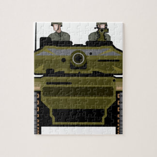 Tank Front Jigsaw Puzzle