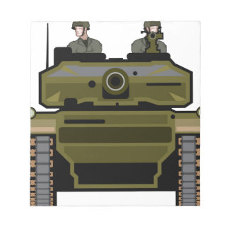 Tank Front Notepad