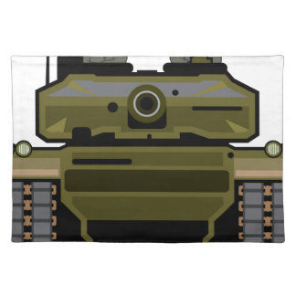 Tank Front Placemat