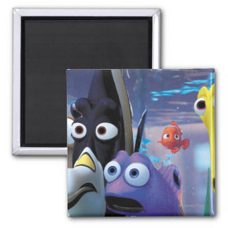 Tank Gang 2 Inch Square Magnet