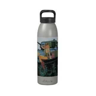 Tank Girl Pin-Up Water Bottle