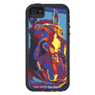 Tank - Horse Nose It All iPhone 5 Cases